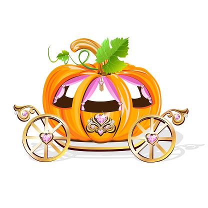 Beautiful princess carriage