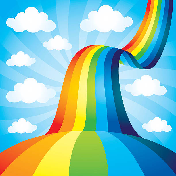 Royalty Free Rainbow Clip Art, Vector Images ...