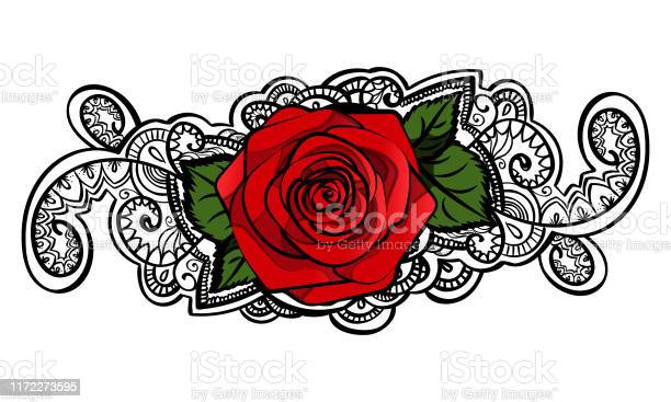 Beautiful red roses composition with leafs and tracery doodle black vector id1172273595?b=1&k=6&m=1172273595&s=612x612&h=u23llft5j xeqhjphutqplawtzqezlbpmxis0wbfa k=