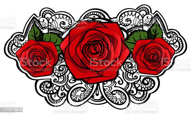 Beautiful red roses composition with leafs and tracery doodle black vector id1172273618?b=1&k=6&m=1172273618&s=612x612&h=iwxzgzi6d7wpzwv4y9vdpjvozbhsipw l4ee9siqcjc=