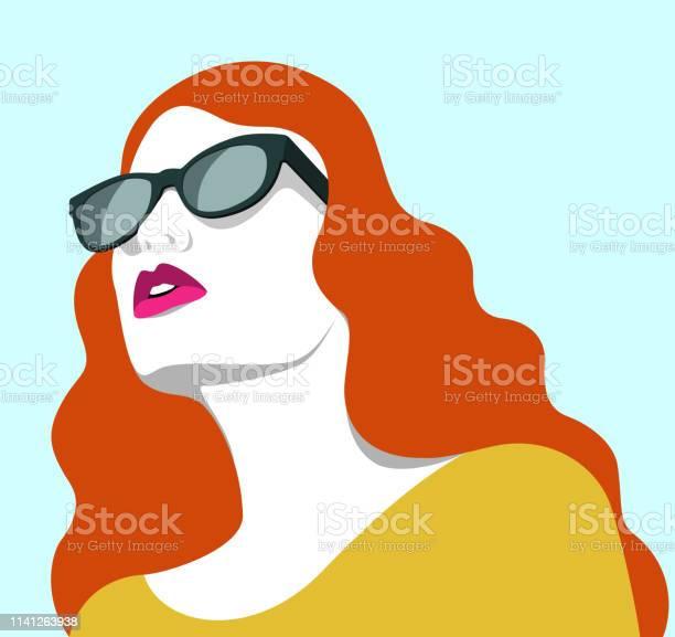 Beautiful redhead woman wearing sunglasses vector id1141263938?b=1&k=6&m=1141263938&s=612x612&h=q0cwb1pacrmvxntu0ggyidu09x4ces84r3vxnpr 4wc=