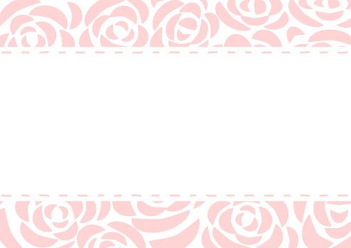 beautiful rose pattern background