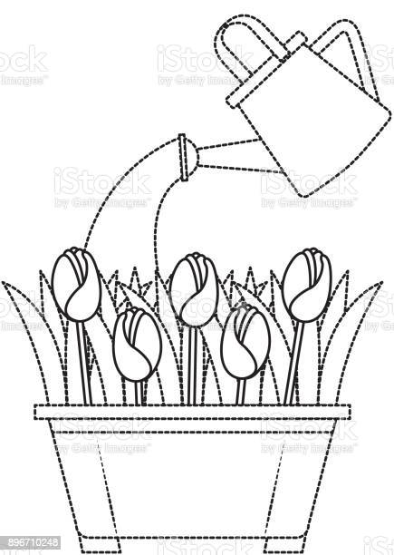 Beautiful roses cultivated in pot with sprinkler vector id896710248?b=1&k=6&m=896710248&s=612x612&h=3n995dukugzmsau1wj9okaypwlrxhpllvoghx0dbjtq=