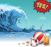 drawn of vector water sport illustrations. This file of transparent and created by illustrator CS6.