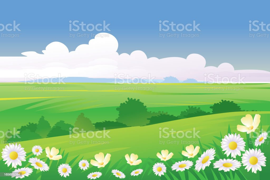 Beautiful Spring Background royalty-free beautiful spring background stock vector art & more images of backgrounds