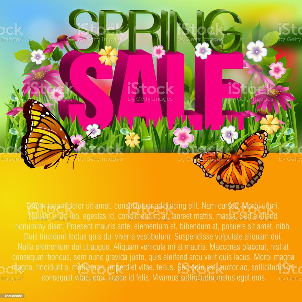 Beautiful Spring background royalty-free beautiful spring background stock vector art & more images of beauty