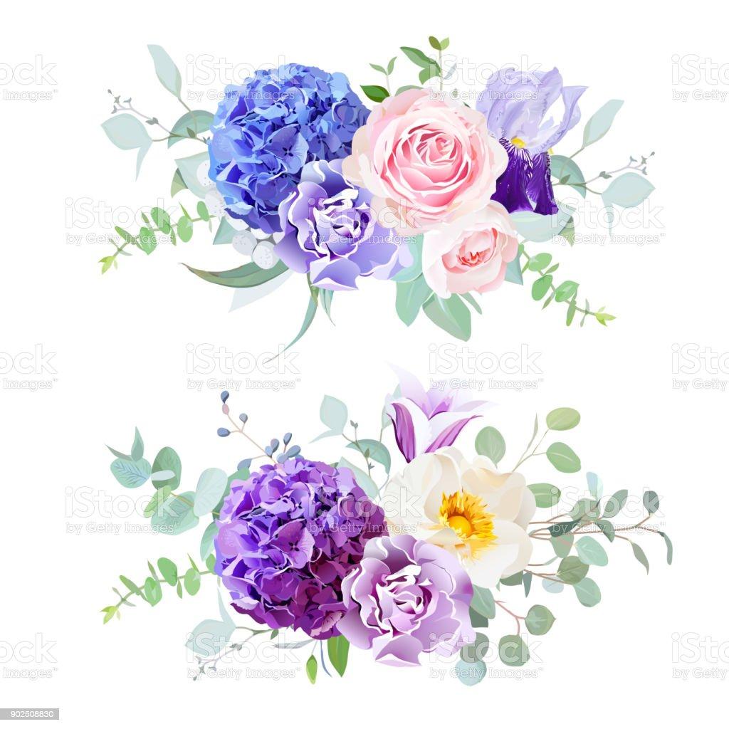 美しい春の結婚式の花。 ベクターアートイラスト