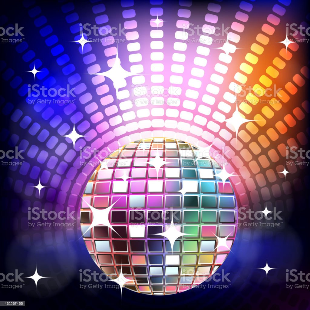 Beautiful Stage with Disco ball royalty-free beautiful stage with disco ball stock vector art & more images of abstract