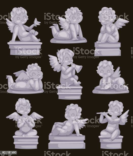 Beautiful statue of angel praying isolated marble antique sculpture vector id801187480?b=1&k=6&m=801187480&s=612x612&h=ukqpe2kswlhmxmtmtz4 ncb0hzrc045lbeodm3nrj0o=