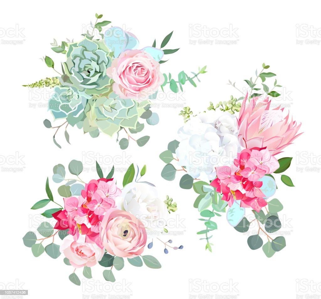 Beautiful Summer Wedding Flowers Stock Illustration Download Image Now Istock