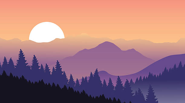 Best Smokey Mountains Illustrations, Royalty-Free Vector ...