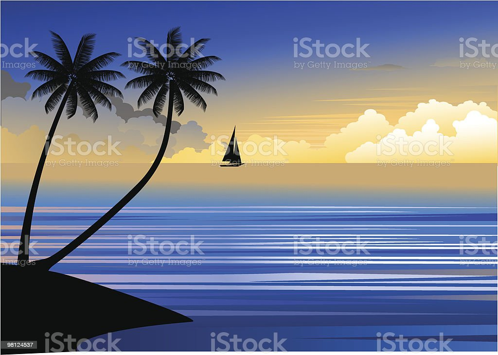 Beautiful sunset royalty-free beautiful sunset stock vector art & more images of backgrounds