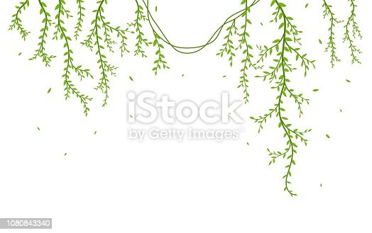 Vector Illustration of Beautiful tree branch with birds silhouette background for wallpaper sticker  eps10