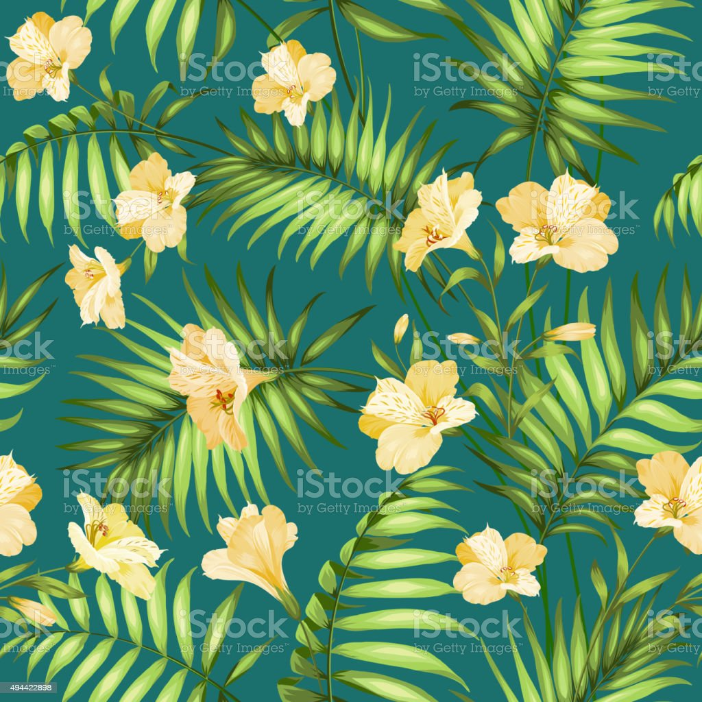Beautiful tropical flowers stock vector art more images of 2015 beautiful tropical flowers royalty free beautiful tropical flowers stock vector art amp more images izmirmasajfo