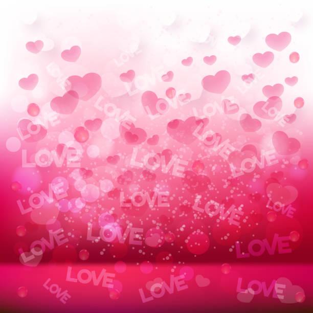 illustrazioni stock, clip art, cartoni animati e icone di tendenza di bella san valentino sfondo - love word