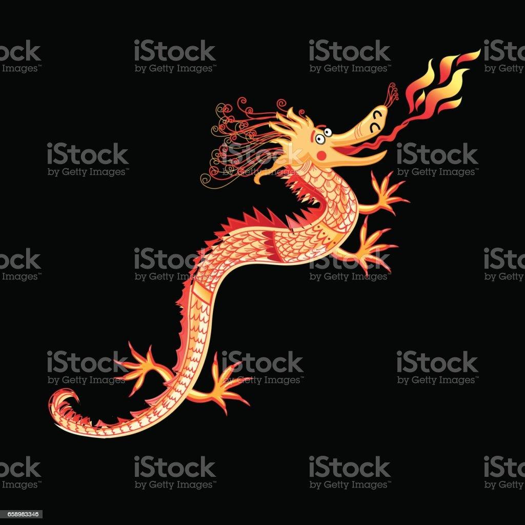 Beautiful vector dragon royalty-free beautiful vector dragon stock vector art & more images of ancient