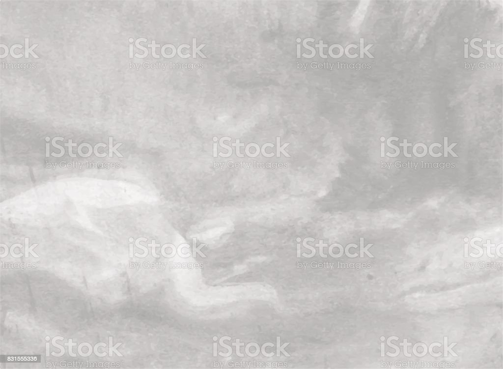 beautiful watercolor abstract background. In shades of grey with the effect of marbling. Vector illustration. vector art illustration