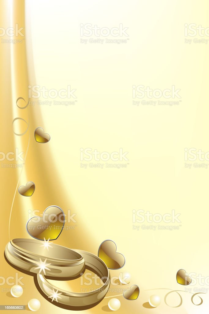 Beautiful Wedding Background royalty-free stock vector art
