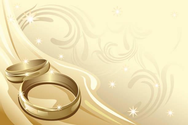 Clipart Goldene Hochzeit Stock Vektoren Und Grafiken Istock
