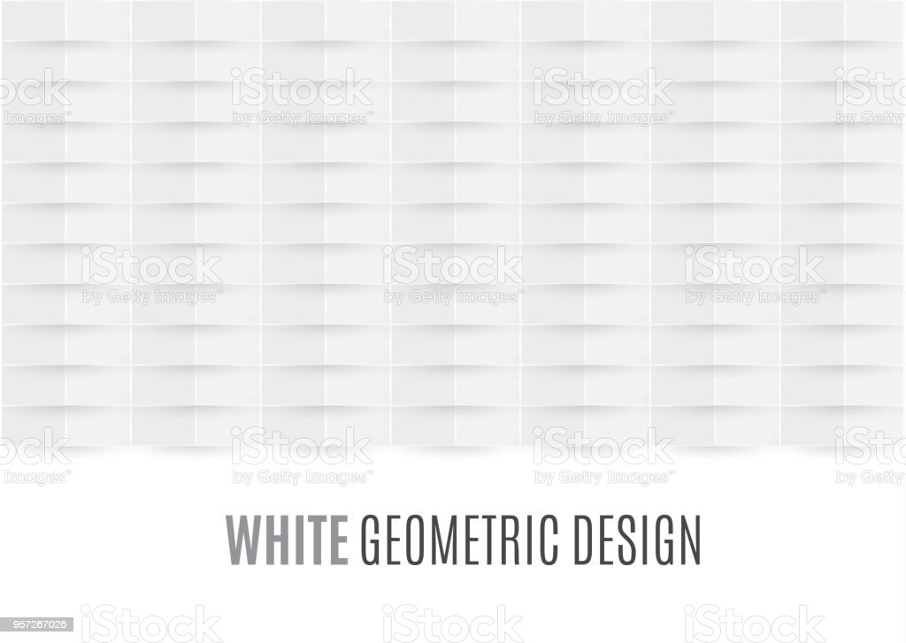 Beautiful White Abstract Texture Vector Background Can Be
