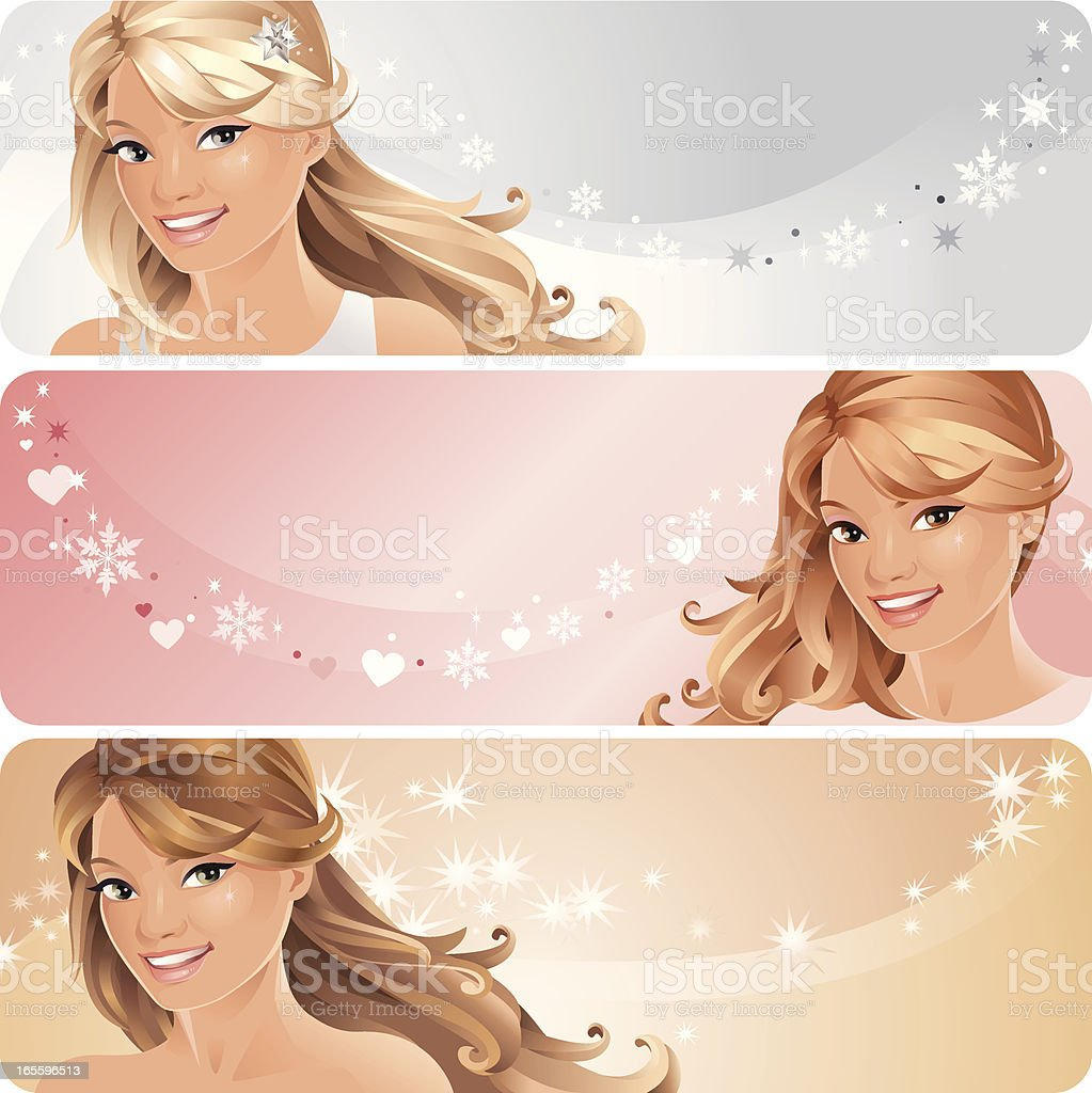 Beautiful Woman on Pastel Colored Backgrounds royalty-free beautiful woman on pastel colored backgrounds stock vector art & more images of adult