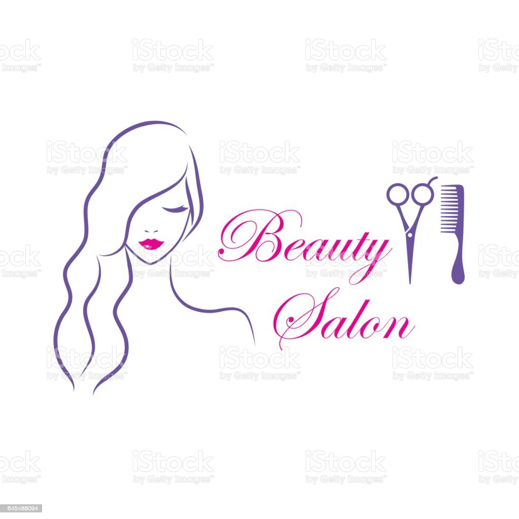 Identity Is Beauty For Sickymagazine Com Photography Lobke: Modèle De Logo Vectoriel Belle Femme Pour Salon De