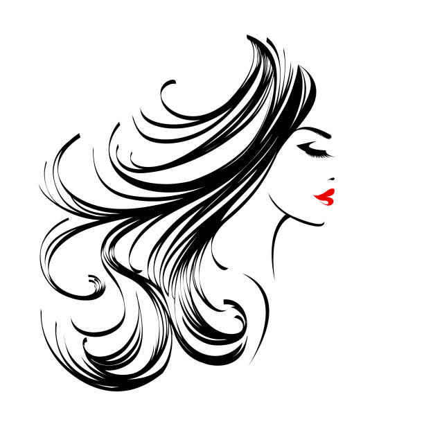 Royalty Free Red Lipstick Clip Art, Vector Images