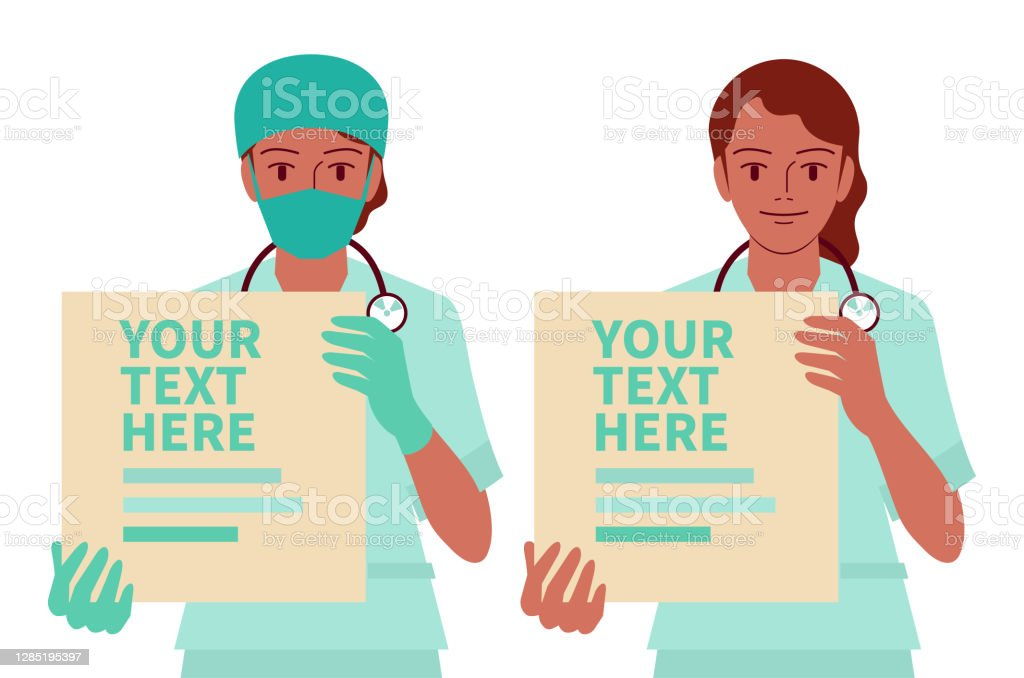 Young Nurse With A Stethoscope Stock Image - Image of