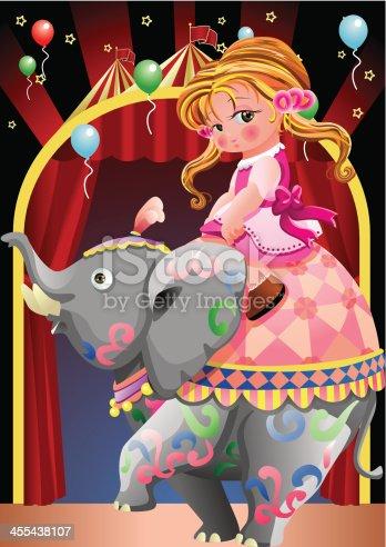 istock Beauty And Elephant 455438107