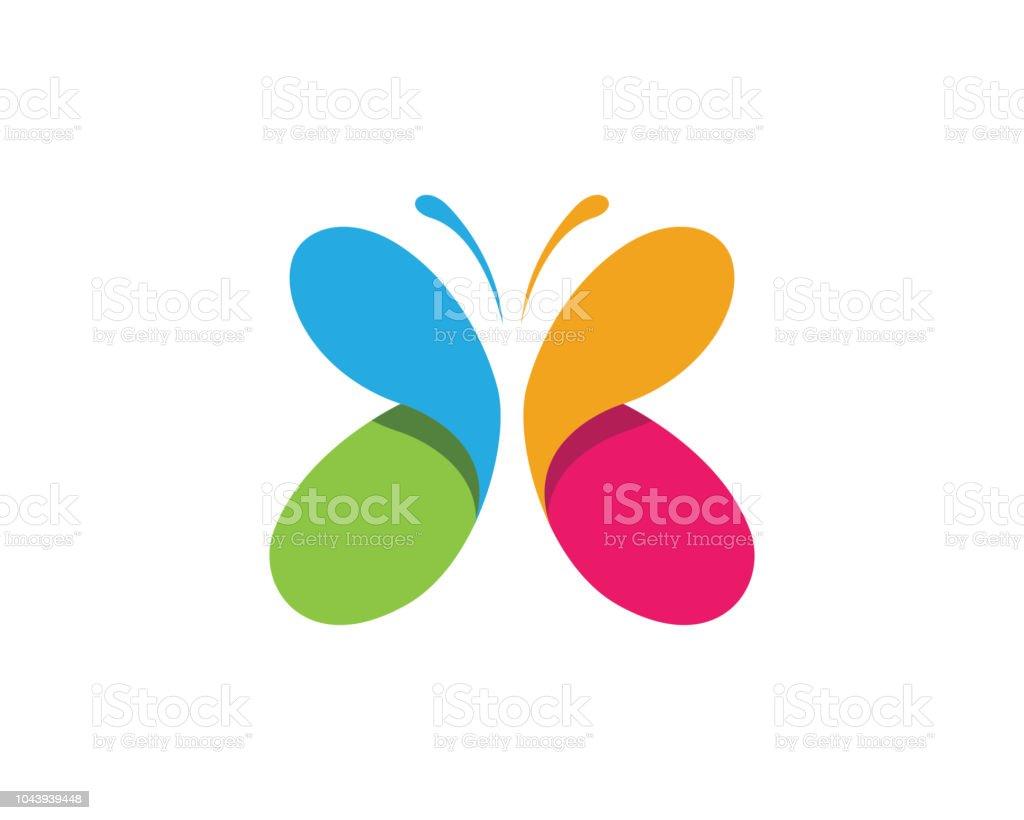 Beauté papillon Vector icon design beauté papillon vector icon design vecteurs libres de droits et plus d'images vectorielles de affaires libre de droits