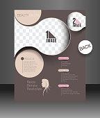 Beauty Care & Salon Flyer