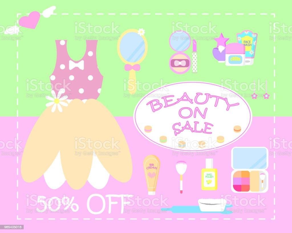 mis en vente de beauté esthetique - clipart vectoriel de Aile de déguisement libre de droits