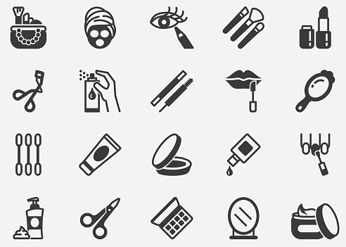 Beauty ,Cosmetics,Make-up Pixel Perfect Icons