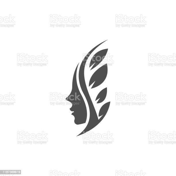 Beauty face leaf shillouette illustration vector template vector id1187388619?b=1&k=6&m=1187388619&s=612x612&h=jwwiimtyys9ilszxquxzlabiyf4mr6 nj31zptk1mbs=