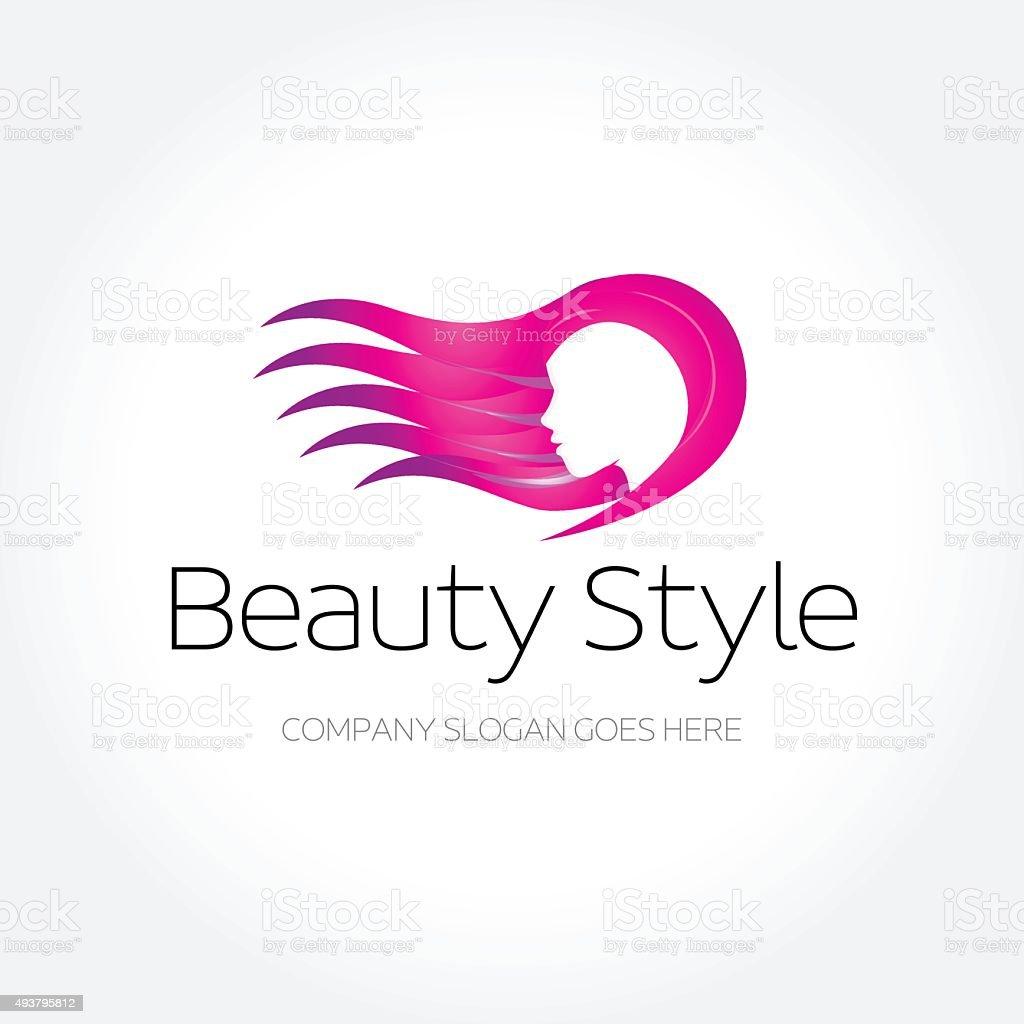 Beauty Fashion Spa Haircut Salon Make Up Logo Design ... - photo #8