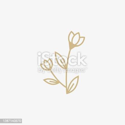 istock beauty icon template,design vector creative concept idea idea 1287140370