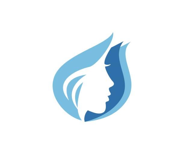 schönheit-symbol - pflanzenhaar stock-grafiken, -clipart, -cartoons und -symbole