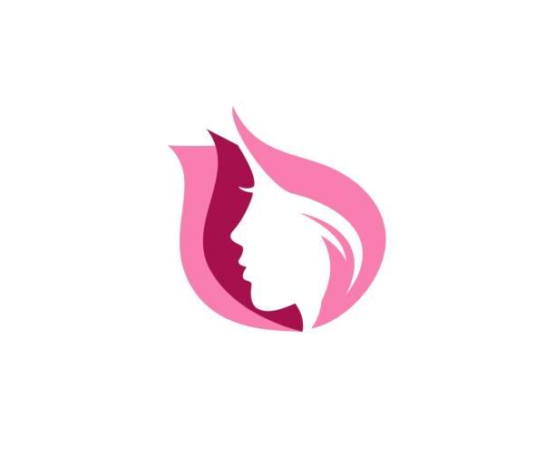 ilustrações de stock, clip art, desenhos animados e ícones de beauty icon - woman make up