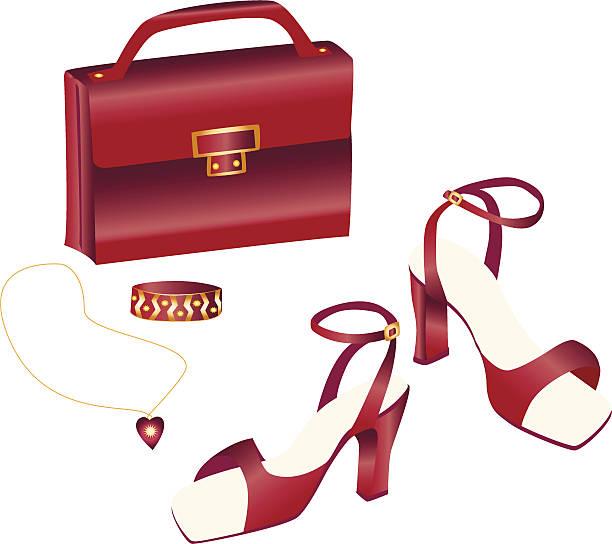 schönheit in burgunder - paararmbänder stock-grafiken, -clipart, -cartoons und -symbole
