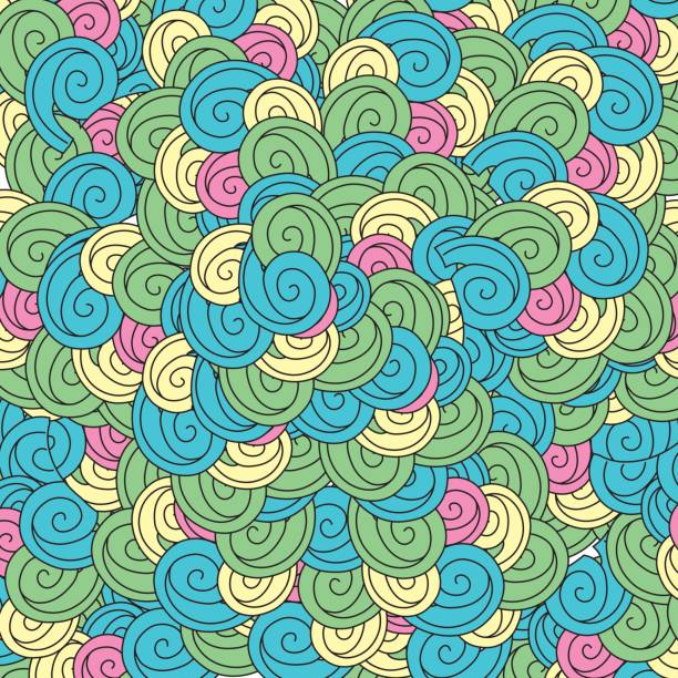 beauty natural ornamental background design vector art illustration