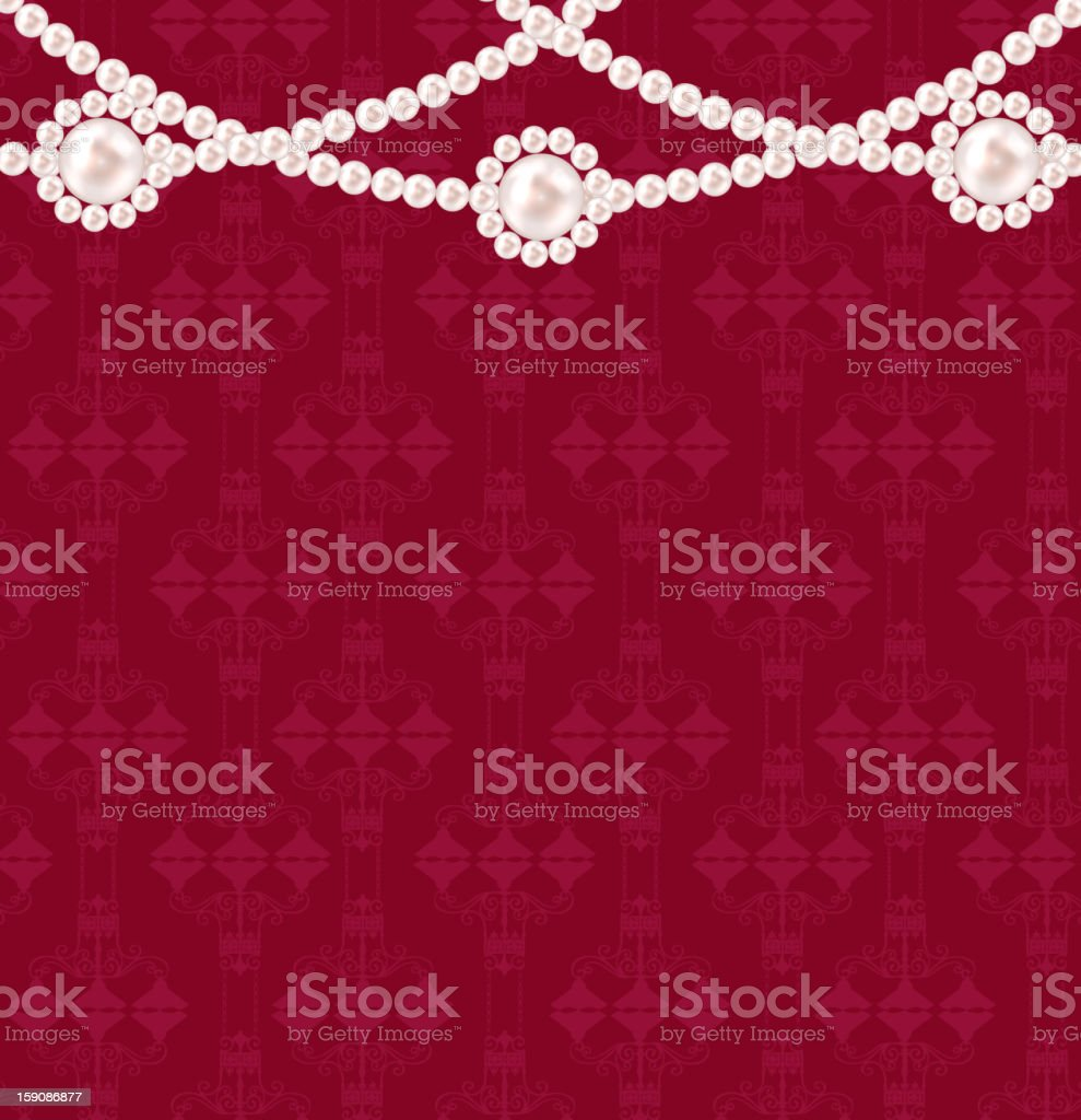 Beauty pearl background vector illustration royalty-free stock vector art
