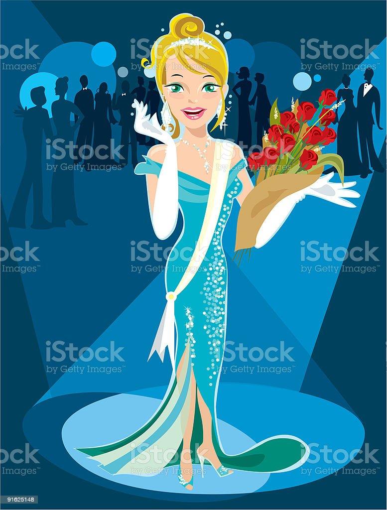 Beauty Queen royalty-free beauty queen stock vector art & more images of beautiful people