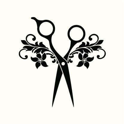 Beauty salon symbol