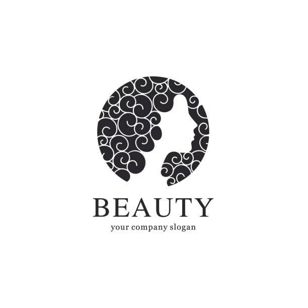 Modèle de conception pour le vecteur salon de beauté - Illustration vectorielle