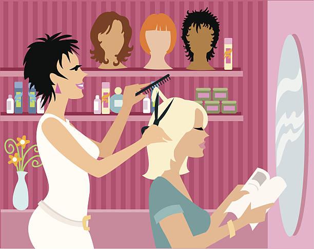 ilustrações, clipart, desenhos animados e ícones de salão de beleza - salão de beleza