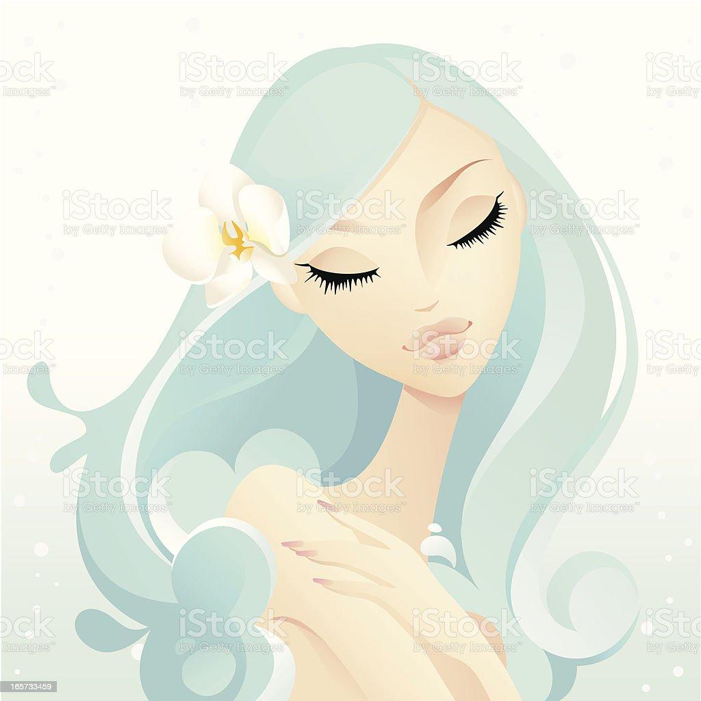 Beauty Spa royalty-free stock vector art