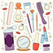 Girlie beauty supplies need for getting ready