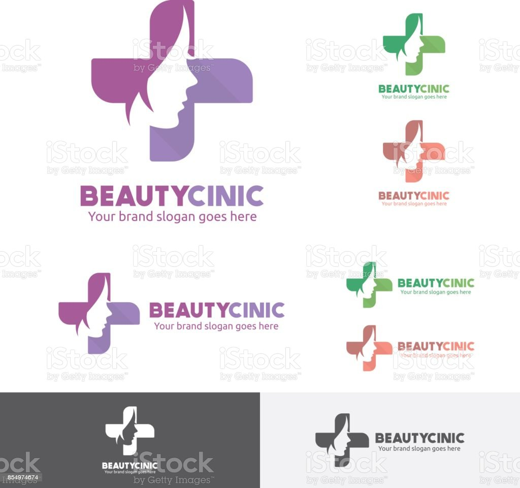 Beauty woman medical clinic icon with face and cross symbol stock beauty woman medical clinic icon with face and cross symbol royalty free beauty woman biocorpaavc