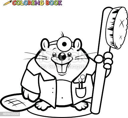 istock Doctors coloring book page. 603853060 istock Libro de ...