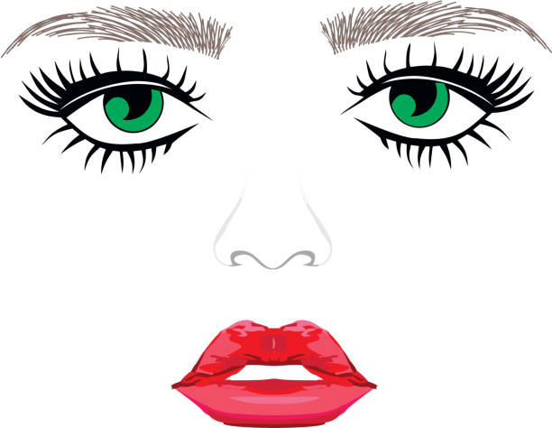 Beayty salon logo vector art illustration